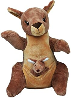 BEAREGARDS.COM Recordable Mother & Joey Kangaroo with 30 Second Digital Recorder