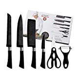 Perfect Pricee 6 Pcs Non-Stick Knife Set for Kitchen, Professionals, Chef, Super Sharp high Carbon...