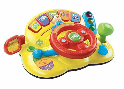 VTech - Centro de actividades con volante para bebés (166605) (versión en francés)