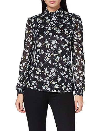 Garcia Damen V00209 Bluse, Black, XXL