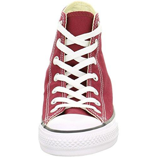 Converse Chuck Taylor All Star Rubber - Zapatillas unisex adulto, color rojo (red/red/red), talla 45 EU