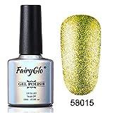 10 ml UV LED Stampinglack Nagellack Bling Glitter Nail Art Emaille