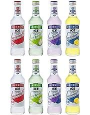 【Amazon.co.jp限定】【ボトルカクテル】 スミノフアイス 4種類×2本アソートセット[ 275ml×8本 ]