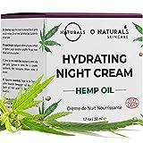 O Naturals Organic Hemp Oil Face Moisturizer Hydrating Night Cream....