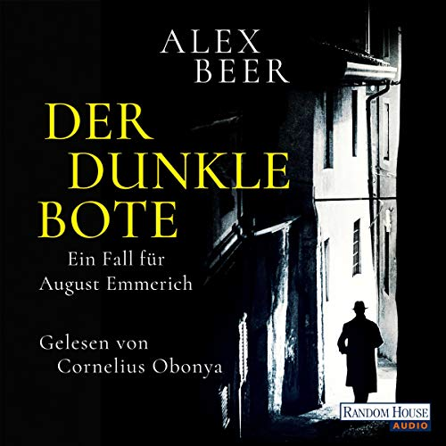 Der dunkle Bote audiobook cover art