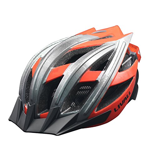 Livall BH100 Bling Helmet with Bling Jet Controller, Large, Red by LIVALL