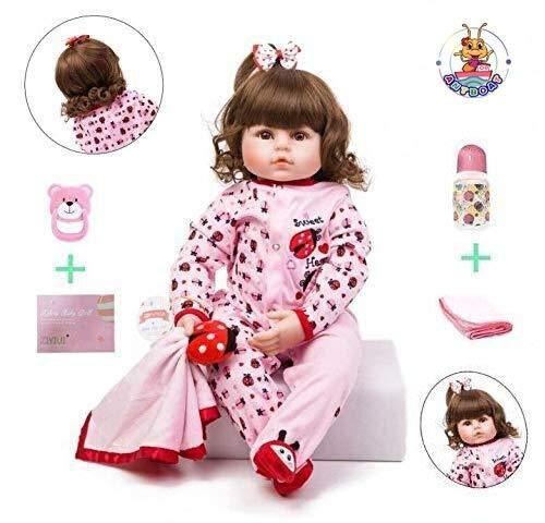 ZIYIUI 18 Pulgadas 47cm Reborn Doll Muñeca renacida Muñeca de niño Muñeca...