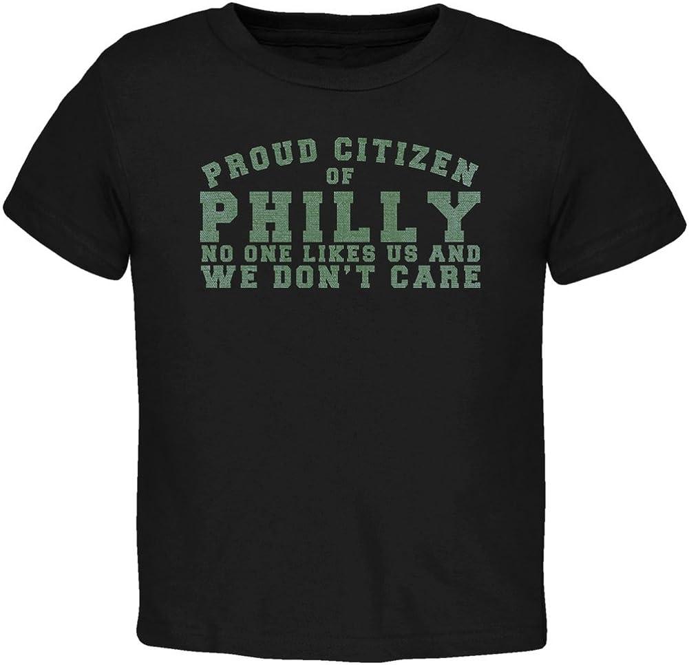 Proud No One Likes Philladelphia Black Toddler T-Shirt