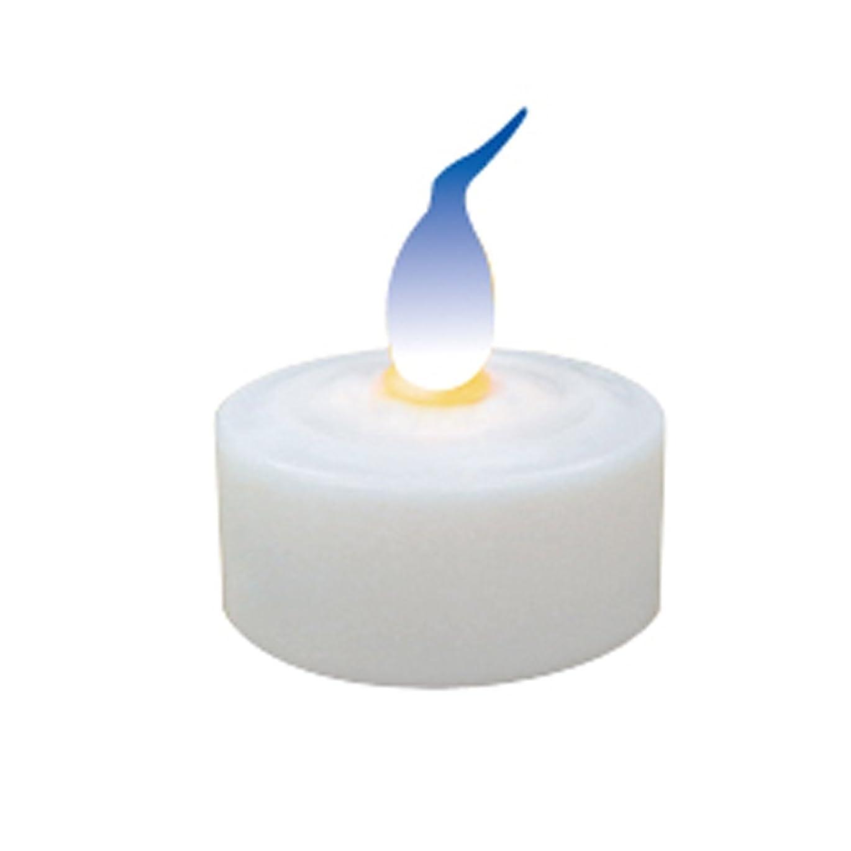 バケツ短命オーラル火を使わないLEDキャンドル ( LEDキャンドルライト ロウソク) (ブルー)