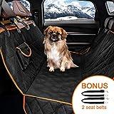 "MiaoWow Dog car Seat Covers of Back Seat Cars/Trucks/SUV-Universal Size 58"" x 54"""