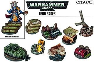 warhammer 40k hero bases