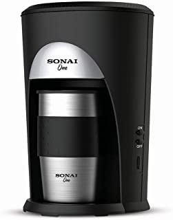 Sonai Powder Filter Coffee Machine,Black - SH-1211