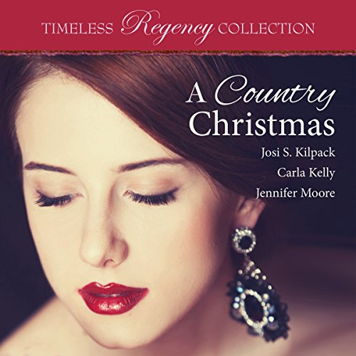 A Country Christmas audiobook cover art