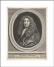 Gerard Edelinck - 16x20 Art Print by Museum Prints - Robert Nanteuil