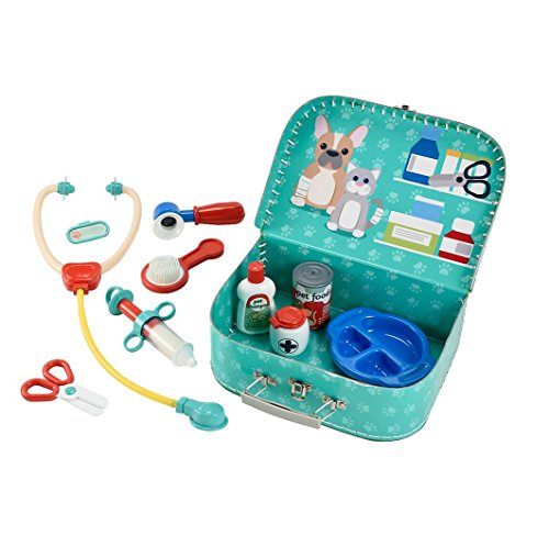 ELC Vets Case Toy Kit for Boys and Girls Fancy Dress Play (New Version)