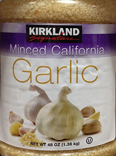 Kirkland Signature MINCED CALIFORNIA GARLIC 48oz. (4 Pack)