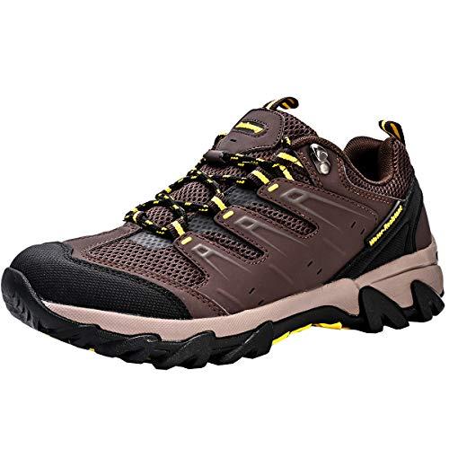 Zapatos de Senderismo Unisex Bajo para Hombres y Mujeres Calzado Deportes de Exterior Transpirables Antideslizante Zapatillas