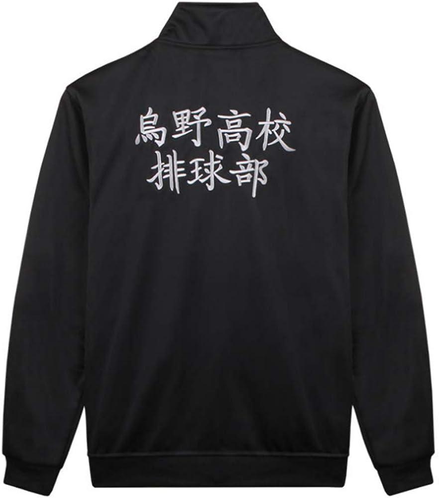 Uniform Karasuno High School Volleyball Jacket Pant Cosplay Costume Haikyuu!