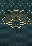 Agenda 2021 « Mandala Verde Dorado »: 2021 Diario semanal - Pequeño formato A5 - Para anotar todas las citas de enero a diciembre 2021 - Regalo de ... empezar el año nuevo - Versión en español