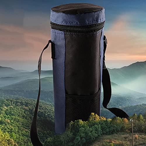 Bolsa de almacenamiento para botellas de agua con aislamiento para botellas de picnic, plegable, bolsa para viajes