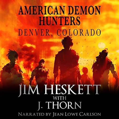 American Demon Hunters - Denver, Colorado audiobook cover art