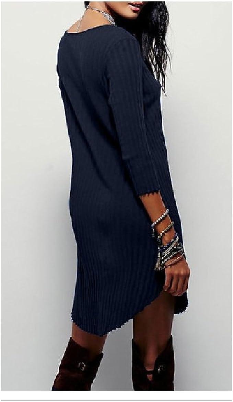 SheIn Damen Tunika Kleid Gr. Large, Marineblau  Amazon.de Bekleidung