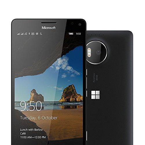 Microsoft RM-1116 Black Smartphone Lumia 950 XL (Dual SIM, 32GB Speicher, 14,47 cm (5,7 Zoll)) schwarz