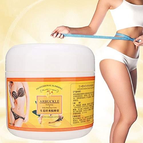 Massage Crème Amincissante Ginger Body Massage Crème Amincissante Jambe Cuisse Taille Bras Remodelant Crème Raffermissante 300g