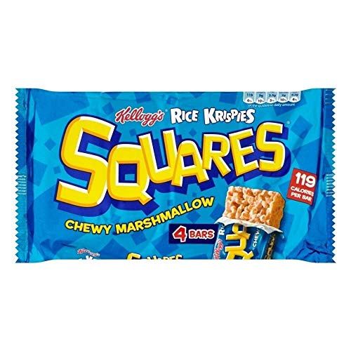 Kellogg#039s Rice Krispies Squares Chewy Marshmallow 4x28g