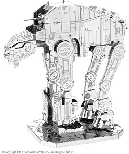 Fascinations Metal Earth - Star Wars El último Jedi - AT-M6 Heavy Assault Walker Metal Modelo 3D