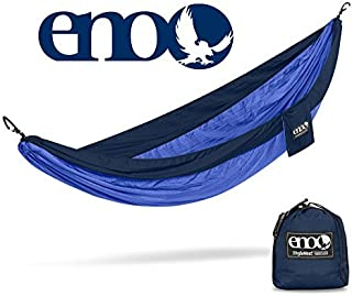 ENO - Eagles Nest Outfitters SingleNest Lightweight Camping Hammock, Navy/Royal