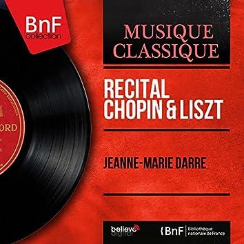 Récital Chopin & Liszt (Mono Version)