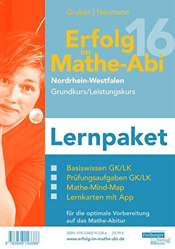 Erfolg im Mathe-Abi 2016 NRW Lernpaket Grund- und Leistungskurs: mit der Original Mathe-Mind-Map
