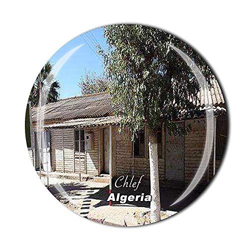 Chlef Algerien Kühlschrankmagnet, Reise-Souvenir, Geschenk, Zuhause, Küche, Dekoration, Magnetaufkleber, Kristall-Kühlschrank-Magnet-Kollektion