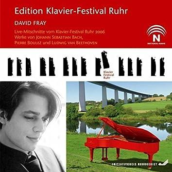 David Fray (Edition Ruhr Piano Festival, Vol. 15) (Live)