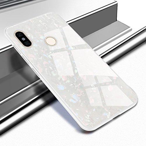 Funda® Firmness Smartphone Carcasa Case Cover Caso para Xiaomi Redmi S2/Xiaomi Redmi Y2(Blanco)