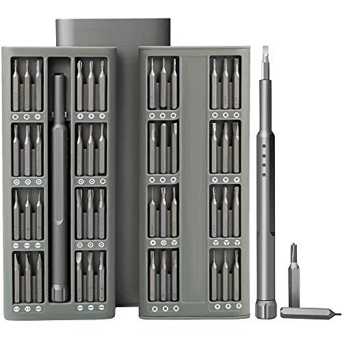 SOONAN 48 en 1 destornilladores precisión profesionales magnético de reparación móvil de aluminio para iPhone, macbook pro,xiaomi, iPad, PC, cámaras, juguetes electrónicos, relojes