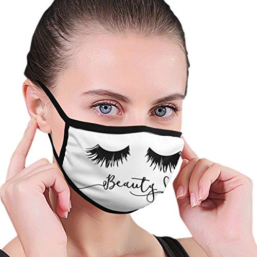 NA Beauty Sleep Eyelash Print Mouth...