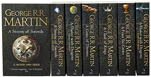 A Game of Thrones: The Story Continues. 7 Volumes Boxed Set: The Complete Boxset of All 7 Books (A Song of Ice and Fire)