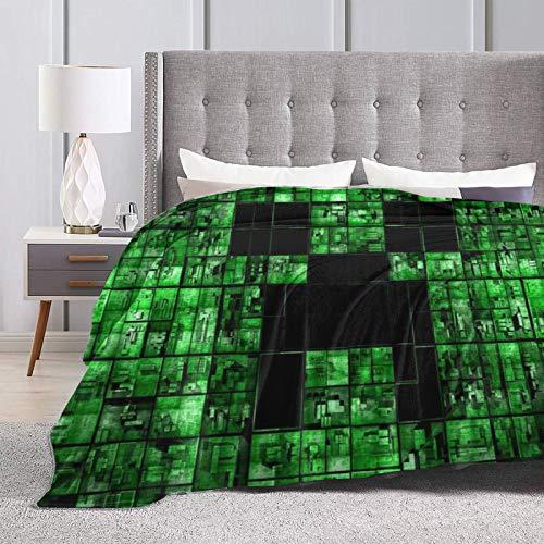 AHJOBOY Min-ecr-AFT Fleecedecke, Überwurf, Decke, maschinenwaschbar, Bettüberwurf, Decke Geschenk für Schlafzimmer, Wohnzimmer, Couch, 127 x 101,6 cm