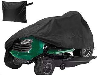 ZXXxxZ Cubierta de la cortadora de césped, Cubierta Impermeable Resistente a los Rayos UV para el Tractor de jardín Ride-On Heavy Duty Durable Fácil de Usar