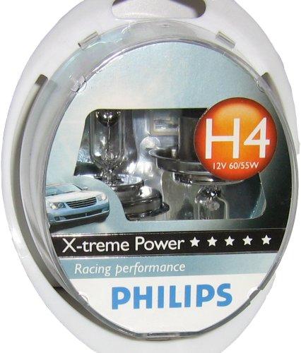 CR Original PHILIPS 12342XPS2 H4 X-treme Power Scheinwerferlampen Lampe 2er Kit