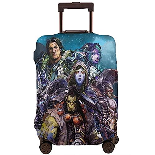World Warcraft Maleta de manga protectora con banda elástica, antiarañazos, mangas elásticas gruesas, fáciles de limpiar, impresas, elegantes y bonitas