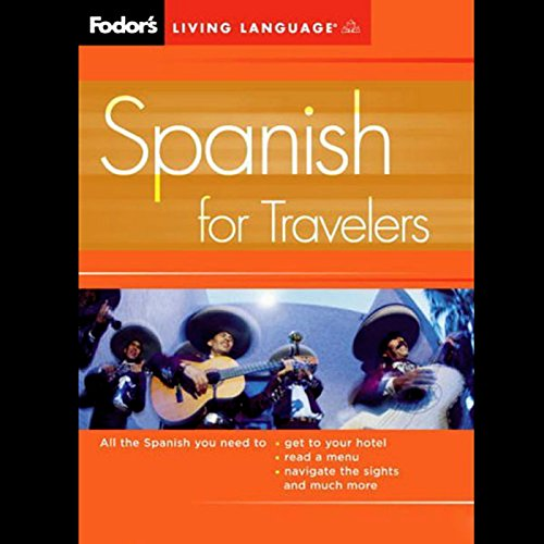Fodor's Spanish for Travelers audiobook cover art