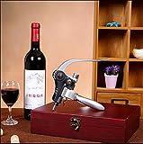 Zoom IMG-1 cooko apribottiglie manuale vino cavatappi