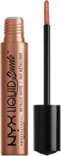 NYX PROFESSIONAL MAKEUP Liquid Suede Metallic Matte Lipstick, Exposed