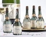 Lote de 24 Pomperos De Jabón Botella de Champan - Pomperos, pompas y burbujas de Jabón, Pompas, Burbujas para Bodas y decoración de Bodas