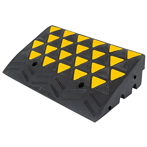 Guardian KR36R Rubber Curb Ramp 6' H, Single Ramp