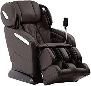 Osaki Pro Maxim B Massage Chair, Brown, SL Track Roller Design, Computer Body Scan Technology, 2 Stage Zero GravityPosition, Touch ScreenController, BluetoothConnection for Speaker
