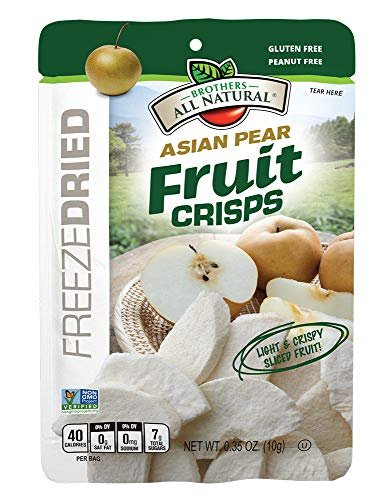 Brothers-ALL-Natural Fruit Crisps, Asian Pear, 0.35 Ounce (Pack of 24) 4